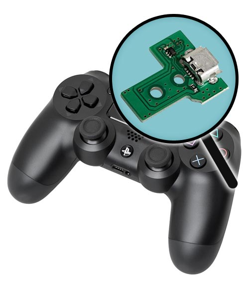 PlayStation 4 Repairs: Controller Charging Port Replacement Service