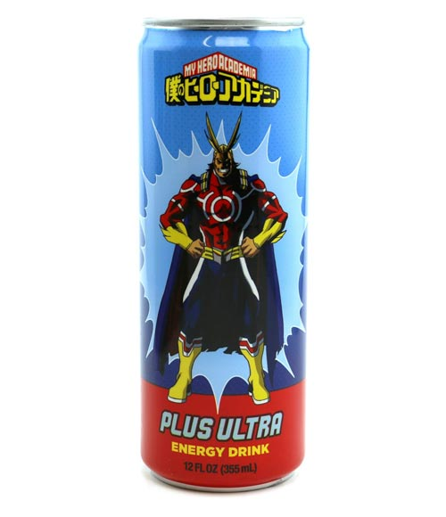 My Hero Academia Plus Ultra Energy Drink