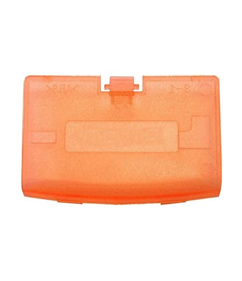 Game Boy Advance Replacement Clear Orange Battery Cover