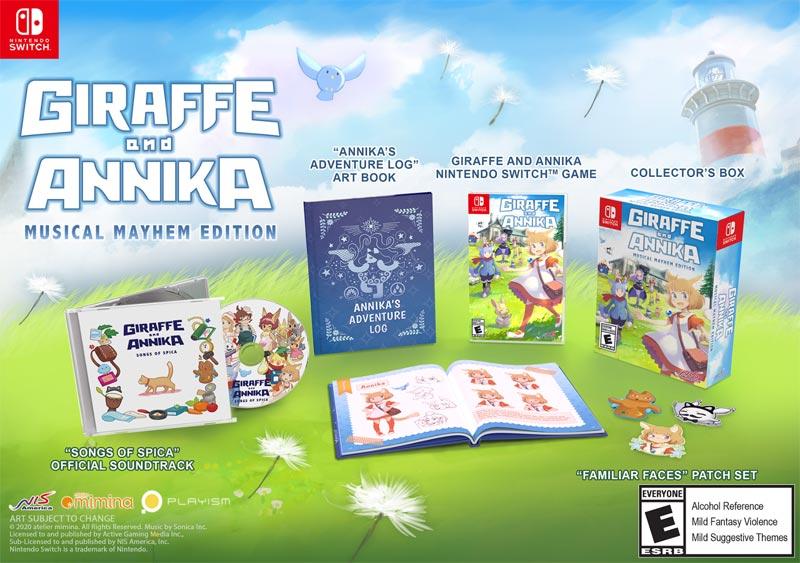 Switch Giraffe and Annika Musical Mayhem Edition all items