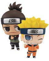 Naruto & Iruka ChimiMega Buddy Series 2 Piece Set