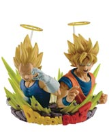 Dragon Ball Z Com Figuration Volume 2 Goku & Vegeta Figure