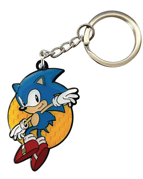 Sonic the Hedgehog Leaping Sonic Keychain