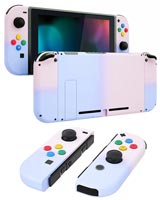 Nintendo Switch Housing Shell Replacement Service Pink & Purple Gradient