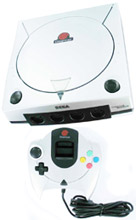 Sega Dreamcast Metallic Silver Limited Edition