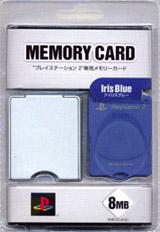PS2 Memory Card Blue by Kemco