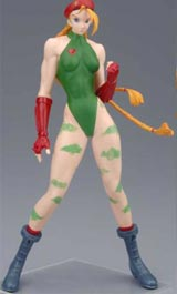 Capcom Girls Collection Heavy Gauge PVC Statue: Cammy