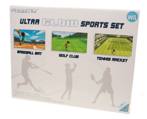 Wii Ultra Glow Sports Set