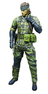 Metal Gear Solid 3 Snake Tiger Camo Ultra Detail Action Figure