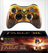 Xbox 360 Wireless Controller Fable III Limited Edition