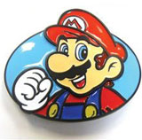 Nintendo Belt Buckle - It's a Mario!