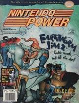 Nintendo Power Magazine Volume 83 EarthWorm Jim 2