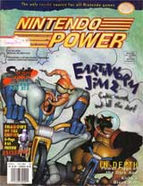 Nintendo Power Magazine Volume 83 EarthWorm Jim 2