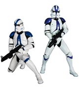 Star Wars Imperial 501st Clone Troopers 2-Pack ArtFX+ Statue