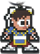 Street Fighter IV Chun-Li 8-Bit Keychain