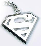 DC Heroes Superman Steel Keychain