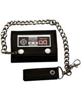 Nintendo Controller Tri-fold Chain Wallet