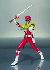 Mighty Morphin Power Rangers: Armored Red Ranger S.H.Figuarts Action Figure