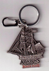 Assassin's Creed IV Ship Metal Keychain