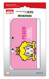 3DS XL Princess Peach Silicone Protector