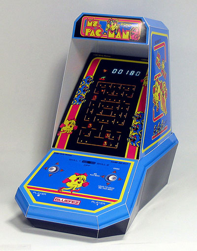 Coleco Mini-Arcade Ms. Pac-Man