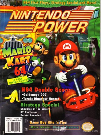 Nintendo Power Volume 93 Mario Kart 64