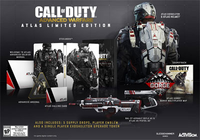 CoD AW Atlas Limited Edition