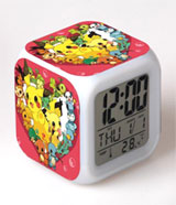 Pokemon: Glowing LED Color Change Digital Alarm Clock