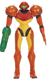 World of Nintendo 4 Inch Figures Wave 4 Samus