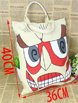Attack on Titan: Colossal Titan Tote Bag