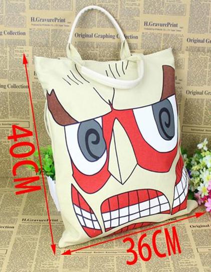 Attack on Titan Colossal Titan Tote Bag