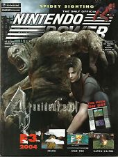Nintendo Power Volume 182 Resident Evil 4