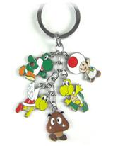 Super Mario Bros Miniature Characters Keychain