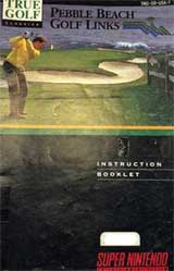 Pebble Beach Golf Links (Instruction Manual)