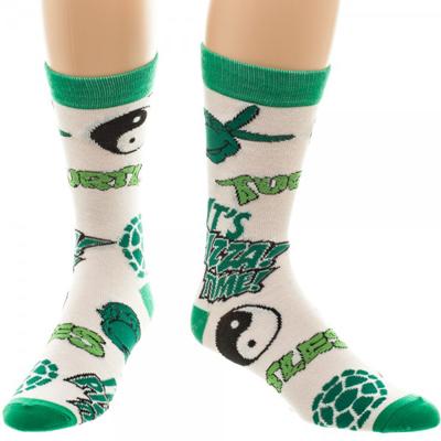 Teenage Mutant Ninja Turtles Multi - Icon Crew Socks