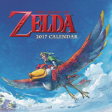Legend of Zelda 16-Month 2017 Wall Calendar
