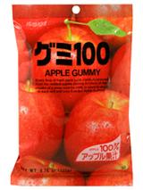 Kasugai Gummy Candy Apple 3.77oz