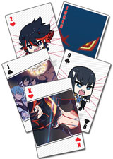 Kill La Kill Playing Cards