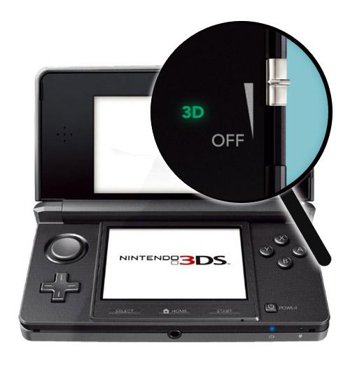 3DS Repairs: 3D Depth Slider Repair