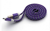 iPhone Lightning to USB Purple Braided 3ft Cable