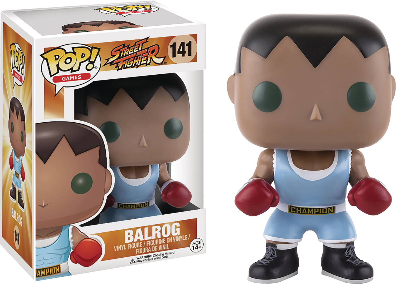 Pop Games Street Fighter Balrog Vinyl Figure