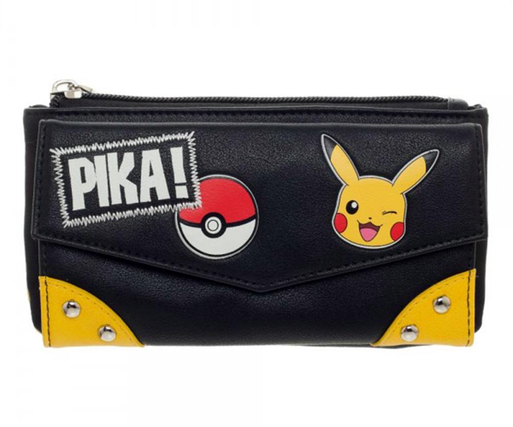 Pokemon Pika! Front Flap Jrs. Wallet