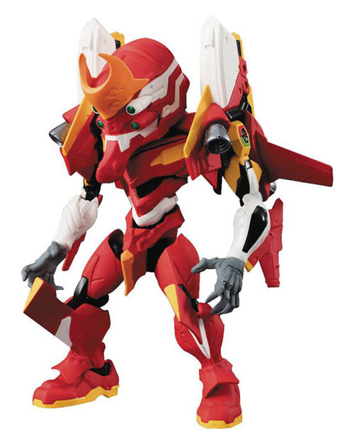 Evangelion NXedge Style Unit-02 + S Type Equipment Figure