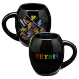 TETRIS 18oz Ceramic Oval Mug