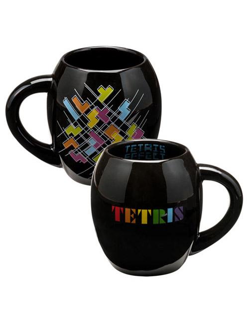 TETRIS 18oz Ceramic Oval Mug