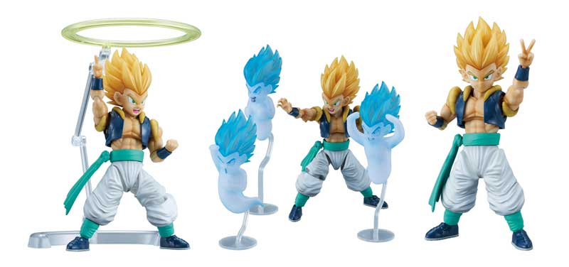 Dragon Ball Z Super Saiyan Gotenks Fig-Rise Model Kit additional shots