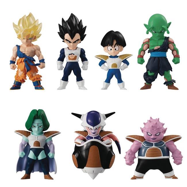 Dragon Ball Z Adverge Series 13 Mini Figures all items