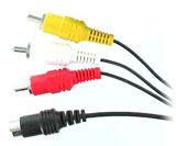 Universal AV & S-Video Cable for GameCube, N64 & SNES