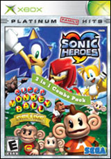 Sonic Heroes / Super Monkey Ball Deluxe 2-in-1 Combo Pack