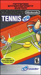 Tennis e-Reader Cards